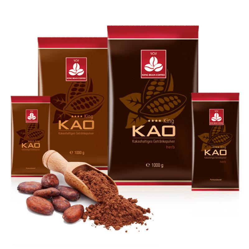 King Bean Coffee - KingKao Trinkschokolade