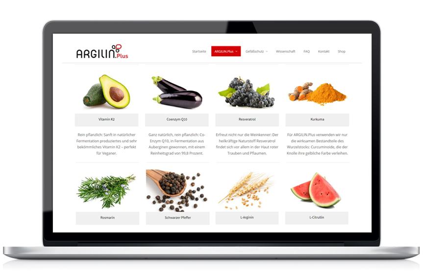 Webseite ArgilinPlus