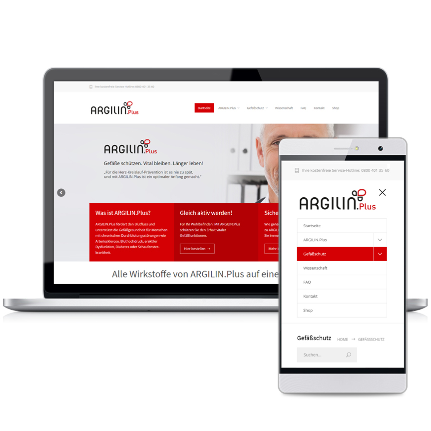 Webseite - Argilin-Plus.com