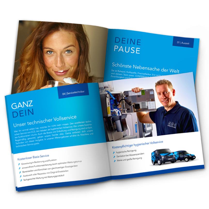 Conference & Coffee service - Imagebroschüre