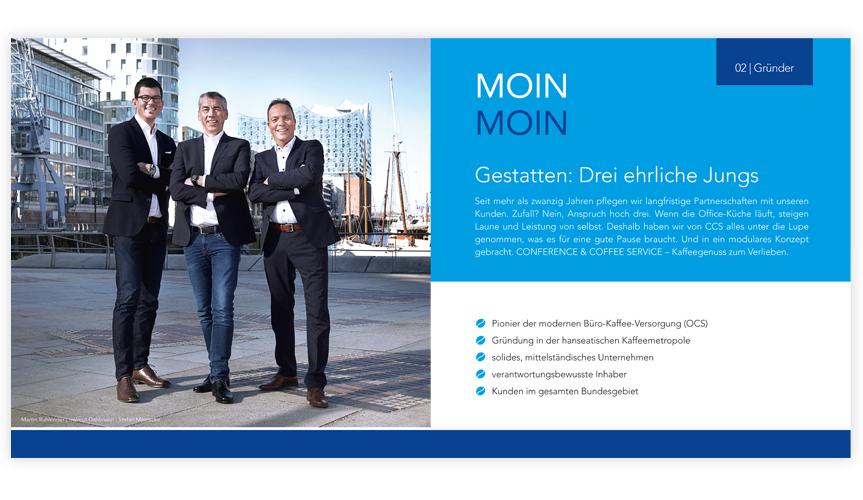 Imagebroschüre - Conference & Coffee Service