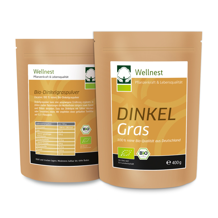 Wellnest International - Dinkelgras Package